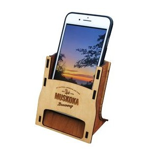 Wood Geckovox Lodge Smartphone Amplifier - GeckoVox Collection