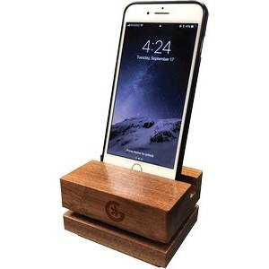 Wood Geckovox Contemporary Smartphone Amplifier - GeckoVox Collection