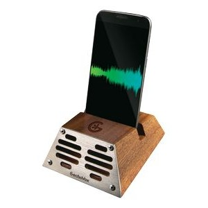 Wood Geckovox Retro Smartphone Speaker - MARKETING EDGE TOP 20 OF 2020