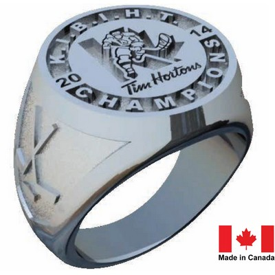 Championship Ring - Stainless Steel